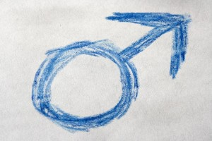 http://www.photos-public-domain.com/2011/03/27/blue-crayon-drawn-male-gender-sign-or-symbol/