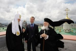 Patriarch_bartholomew,_patriarch_kirill_and_dmitri_medvedev