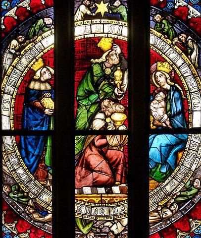 http://commons.wikimedia.org/wiki/File:Adoration_Magi_Louvre_OAR511.jpg
