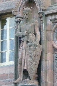 http://en.wikipedia.org/wiki/William_Wallace#mediaviewer/File:William_Wallace_statue,_Scottish_National_Portrait_Gallery,_Edinburgh.JPG