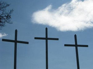 http://www.publicdomainpictures.net/view-image.php?image=2921&picture=three-crosses