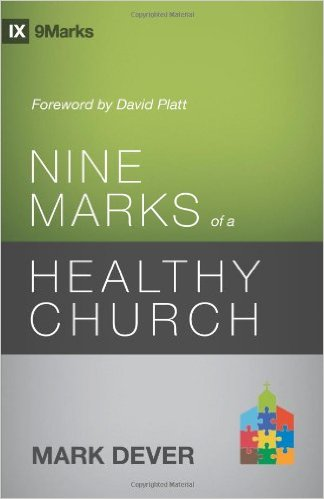 http://www.amazon.com/Marks-Healthy-Church-Edition-9Marks/dp/1433539985