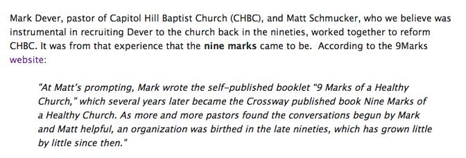 nine marks of a healthy church 3rd edition 9marks