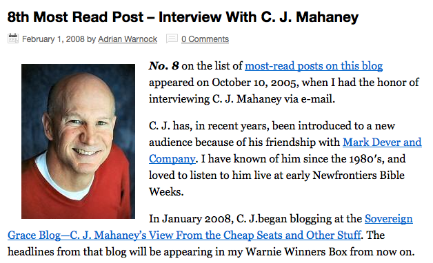 http://www.patheos.com/blogs/adrianwarnock/2008/02/8th-most-read-post-interview-with-c-j/