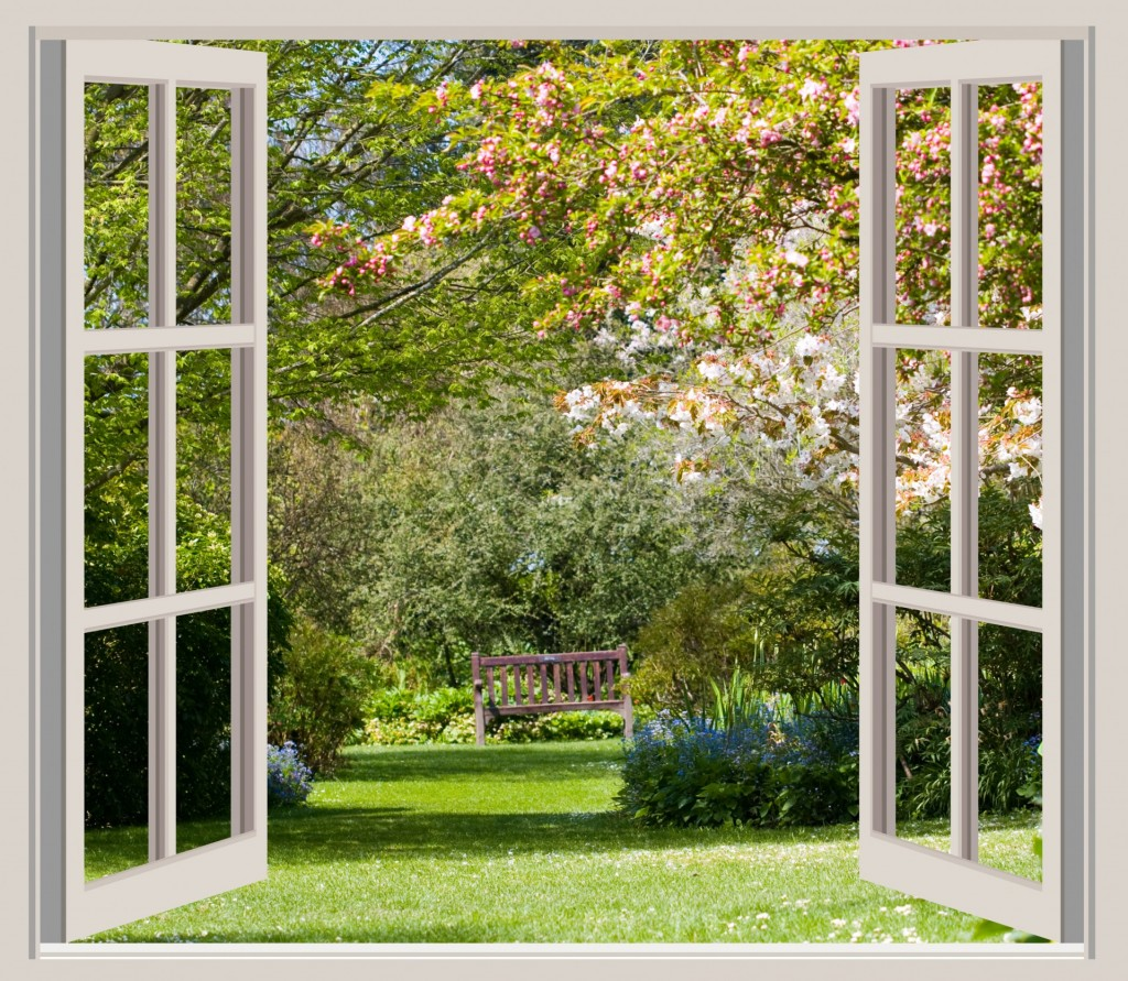 http://www.publicdomainpictures.net/view-image.php?image=42362&picture=spring-garden-window-frame-view