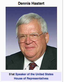 rep dennis hastert essay What we now know about the men who led the impeachment of clinton bob livingston and dennis hastert rep dennis hastert.