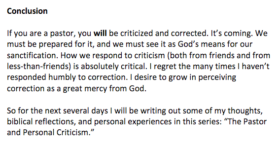 http://www.cjmahaney.com/wp-content/uploads/2015/07/The-Pastor-and-Personal-Criticism.pdf