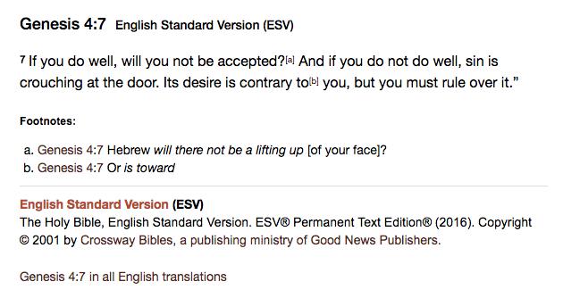 https://www.biblegateway.com/passage/?search=Genesis+4%3A7&version=ESV