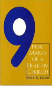 https://www.amazon.com/Nine-Marks-Healthy-Church-Dever/dp/B004OTEGVM/ref=sr_1_4?ie=UTF8&qid=1487817879&sr=8-4&keywords=Nine+marks+of+a+healthy+church