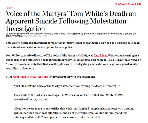 http://www.christianitytoday.com/ct/2012/aprilweb-only/tom-white-accusations.html