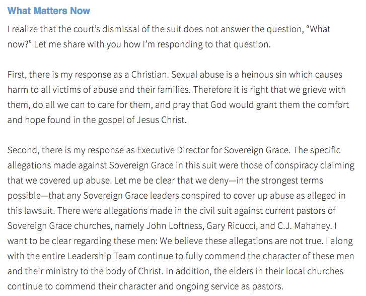 http://www.sovereigngrace.com/sovereign-grace-blog/post/an-open-letter-to-members-of-sovereign-grace-churches