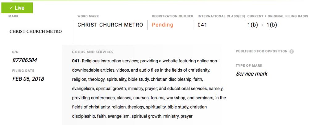 https://www.trademarks411.com/marks/87786584-christ-church-metro