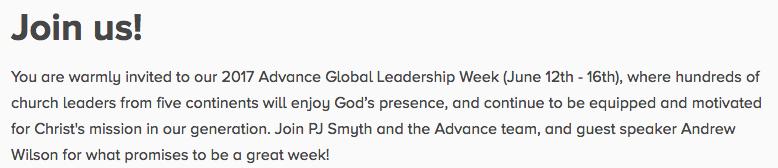 http://www.advancemovement.com/event/864258-2017-06-12-2017-advance-global-leadership-week/