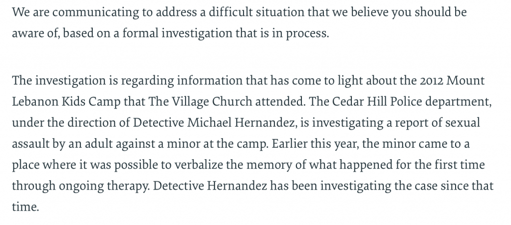 https://thevillagechurch.net/2012-kids-camp-investigation